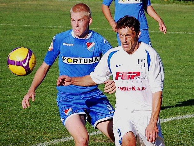 HFK Olomouc proti béčku Baníku