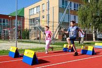 Nový atletický ovál, víceúčelové hřiště i moderní zázemí s bezbariérovým přístupem  na sídlišti Nové Sady v Olomouci