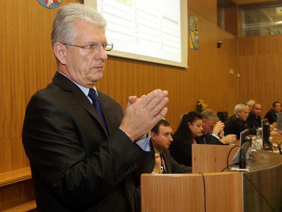 Hejtman Olomouckého kraje Oto Košta (ANO)