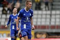 Jakub Plšek slaví gól