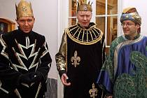 Tři králové na pochůzce Olomoucí