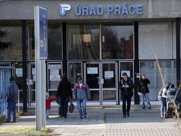 Úřad práce v Olomouci. Ilustrační foto
