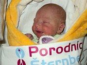 Nela Jahodová, Rýmařov, narozena 4. prosince ve Šternberku, míra 47 cm, váha 2800 g