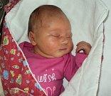 Liliana Walterová, Libina, narozena 10. dubna, míra 50 cm, váha 3620 g