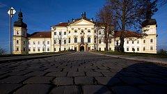 Vojenská nemocnice v barokním areálu Klášterního Hradiska v Olomouci