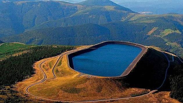 Přečerpávací vodní elektrárna Dlouhé Stráně. Foto: ČEZ