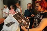 V olomouckém Arcidiecézním muzeu zinscenovali živý obraz podle El Grecova Klanění pastýřů