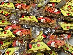 MottoMix – podoba tyčinek vyrobených ve společnosti Úsovsko Food na základě vítězného návrhu litovelský školáků