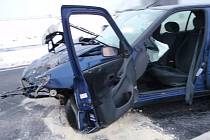 Nehoda u Samotišek, čtvrtek 24. ledna