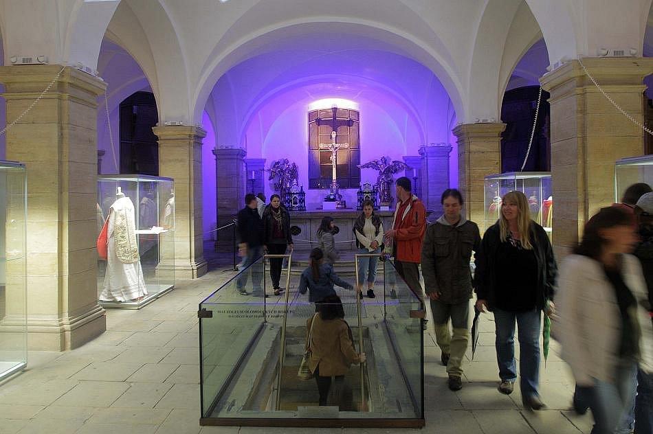 Noc kostelů v olomoucké katedrále sv. Václava