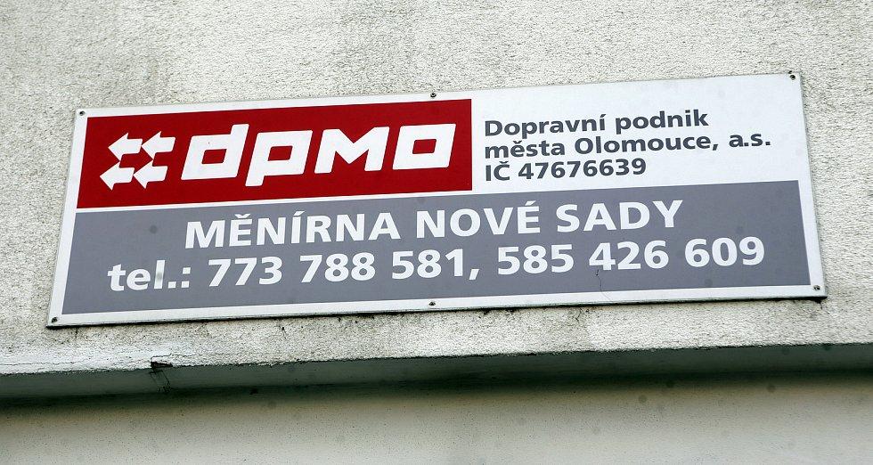 Měnírna DPMO na Nových Sadech