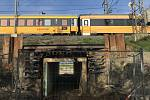Tunel pro cyklostezku pod železničním koridorem u Červenky