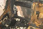 V Dlouhé Loučce na Uničovsku hořel rodinný dům.