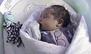 Roman Klempár, Vrbátky, narozen 10. září v Olomouci, míra 51 cm, váha 3690 g