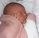 Liliana Kvapilová, narozena 2. března ve Šternberku, míra 51 cm, váha 3710 g