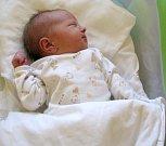 Petra Spurná, Bystročice, narozena 26. dubna v Olomouci, míra 51 cm, váha 3320 g