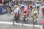 Olomoucký cyklista Pavel Bittner získal na mistrovství Evropy juniorů stříbrnou medaili. Rozhodla až cílová fotografie.