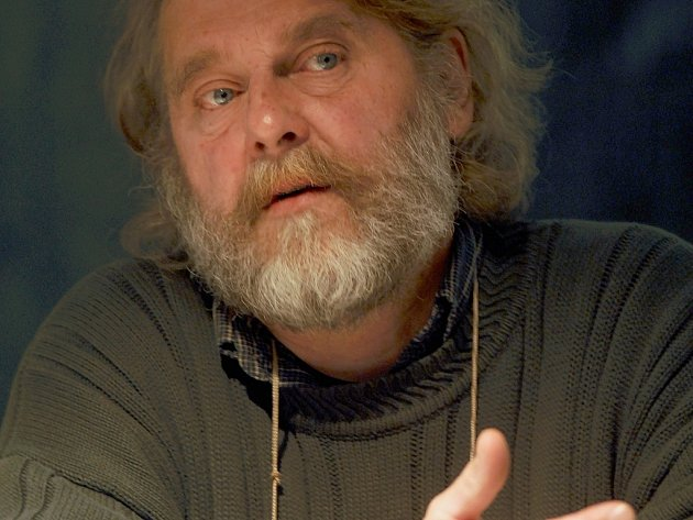 Spisovatel Petr Šabach.