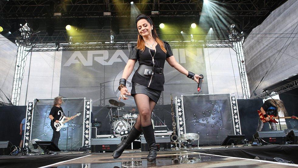Lucie Bílá a Arakain na festivalu Hrady.cz