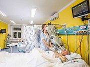 Neurologická jednotka intenzivní péče FN Olomouc, kde jsou léčeni pacienti postižení cévní mozkovou příhodou