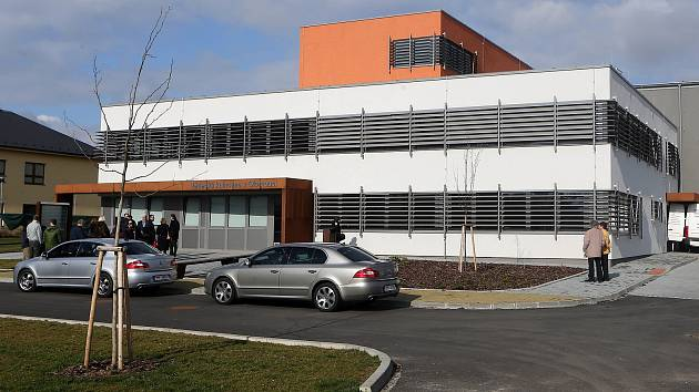 Nové depozitáře Státní vědecké knihovny Olomouc v Hejčíně