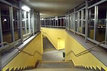 Opravený podchod pod Foerstrovou ulicí