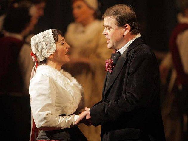 Prodaná nevěsta Moravského divadla