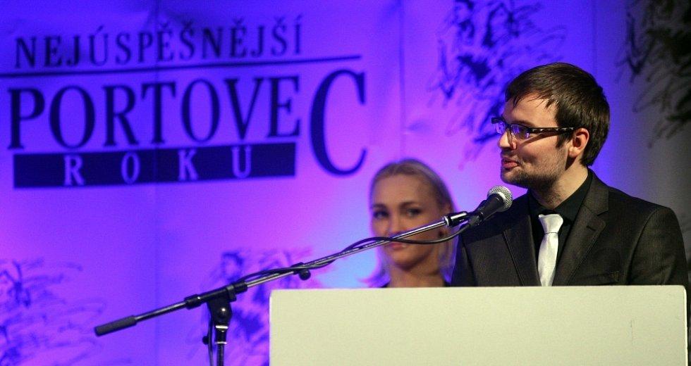 Vyhlášení ankety Nejlepší sportovec Olomoucka 2012: sportovní redaktor Olomouckého deníku Jiří Fišara