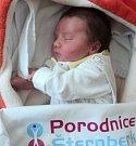 Vanesa Mrňková, Litovel, narozena 7. dubna ve Šternberku, míra 48 cm, váha 3330 g