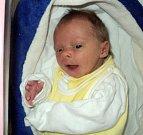 Ester Schovánková, Libina, narozena 7. dubna ve Šternberku, míra 48 cm, váha 2570 g