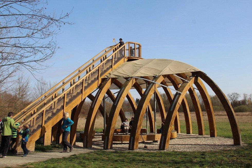 Areál Domu přírody Litovelského Pomoraví u centra ekologických aktivit Sluňákov v Horce nad Moravou na Olomoucku zahájil v sobotu sezonu akcí Probouzení hory.