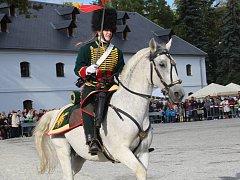 Festival Olmütz 1813 na Korunní pevnůstce v Olomouci