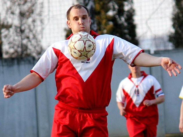 Fotbalisté Hněvotína