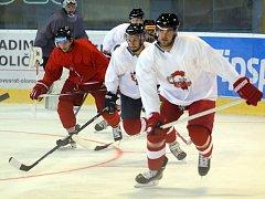 Olomoučtí hokejisté zahájili letní přípravu na ledě