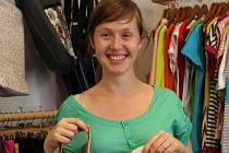 Anna Jílková, majitelka obchodu s originálním oblečením a doplňky