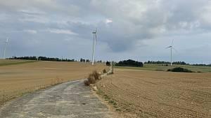 Větné elektrárny u Horní Loděnice