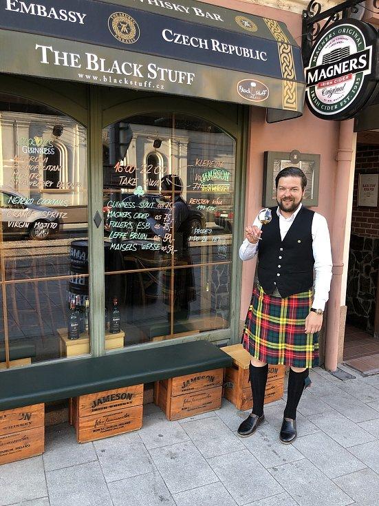 Zdeněk Kortiš, majitel The BLACK STUFF Irish Pub v Olomouci