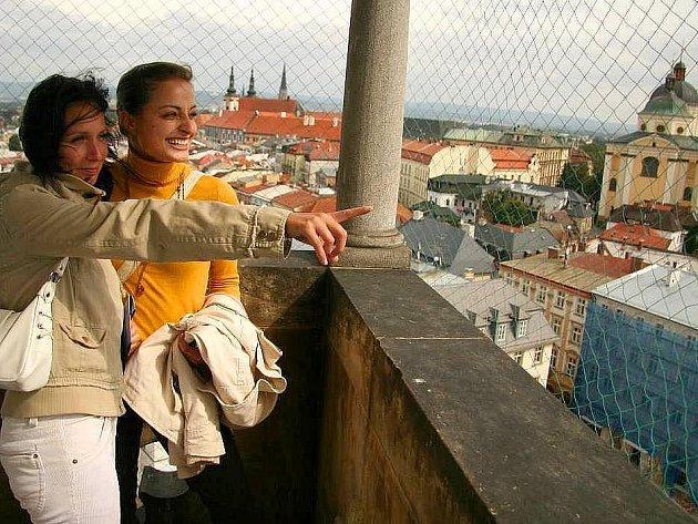 Výhled na Olomouc
