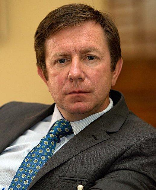 Rektor UP Jaroslav Miller při on-line rozhovoru se čtenáři Olomouckého deníku