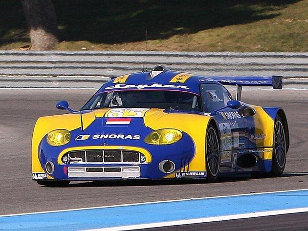 Jaroslav Janiš testoval vůz Spyker na francouzském okruhu Paula Ricarda v Le Castellet.