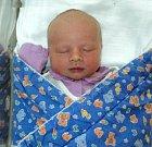 Matyáš Axmann, Dolní Sukolom, narozen 17. dubna ve Šternberku, míra 53 cm, váha 3750 g
