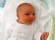 Šimon Pilzer, Olomouc, narozen 30. března, míra 49 cm, váha 3270 g