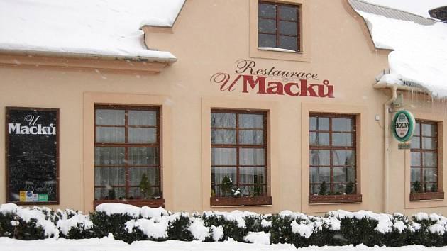 Restaurace U Macků na Svatém Kopečku