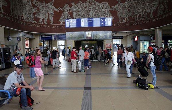 Vestibul hlavního nádraží vOlomouci