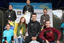 Vyhlášení vítězek Run Tour ČP v Olomouci
