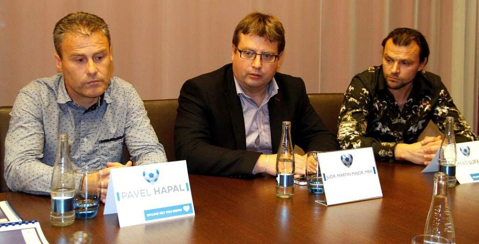 Pavel Hapal, Martin Major, Tomáš Ujfaluši