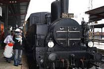 Historická parní lokomotiva Kocůr