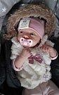 Natally Violett Šálková, Olomouc, narozena 7. ledna v Olomouci, míra 47 cm, váha 2890 g