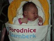 Nikol Šípková, Olešnice, narozena 23. ledna, míra 50 cm, váha 3570 g