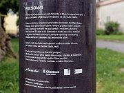 Poeziomat na Václavském náměstí v Olomouci